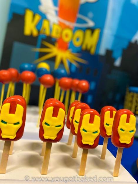 Iron Man Cakesickles (3)