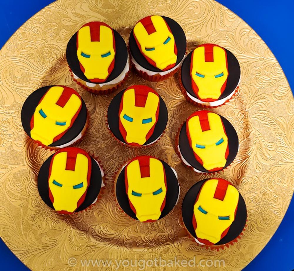 Iron Man Cupakes (1) NEW